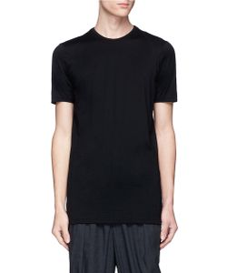 Devoa | Contrast Stitching T-Shirt