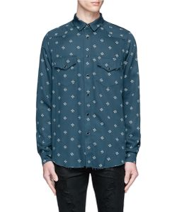 Amiri | Paisley Print Western Yoke Twill Shirt