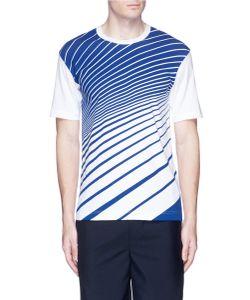 Comme Des Garçons | Diagonal Stripe Cotton T-Shirt