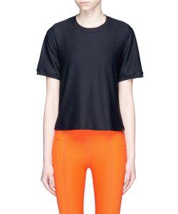Koral | Ringer Mesh Jersey T-Shirt