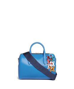 Anya Hindmarch   Vere Barrel Hedra Geometric Cutout Leatherwork Duffle Bag
