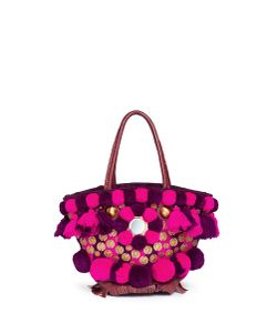 Figue | Imani Samui Tuk Tuk Pompom And Ethnic Coin Mini Tote