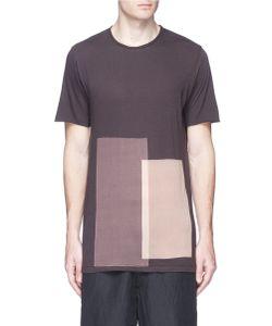 Ziggy Chen | Bleached Panel T-Shirt