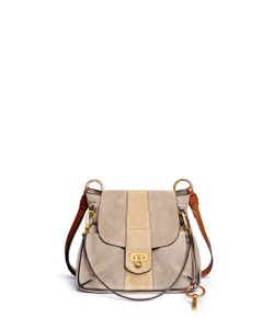 Chloé | Lexa Small Suede Shoulder Bag