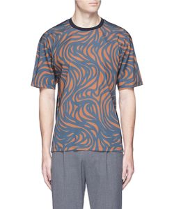 Wooyoungmi | Spiral Print Crepe T-Shirt