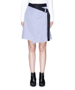 Rag & Bone | Lenna Asymmetric Stripe Wrap Skirt