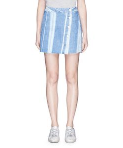 3X1 | Higher Ground Stripe Denim Skirt