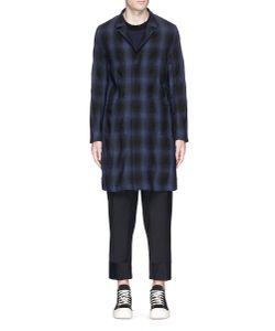 Attachment | Check Plaid Linen-Cotton Hopsack Coat