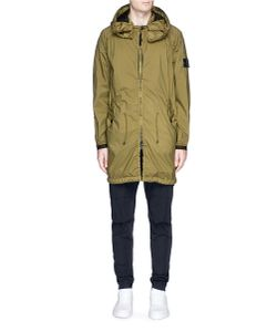 Stone Island | Fishtail Hem Performance Tela Hooded Parka