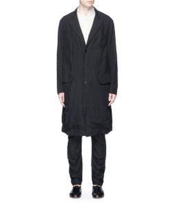 Ziggy Chen | Patchwork Linen Coat