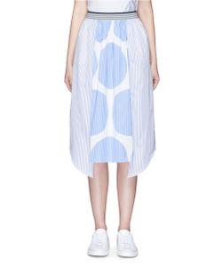 Stella McCartney | Marianna Contrast Polka Dot Stripe Skirt