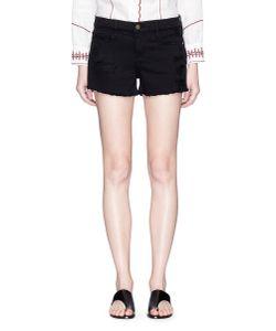 Frame Denim | Le Cutoff Distressed Denim Shorts