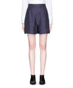 ACNE STUDIOS   Sachi Stripe Twill Shorts