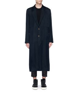Song For The Mute | Lover Print Long Coat