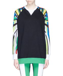 No Ka' Oi | Nola Olympic Print Sleeve French Terry Sweatshirt