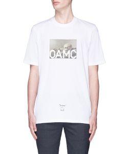 Oamc | Still Life Skull Print T-Shirt