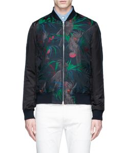PS Paul Smith | Cockatoo Jacquard Bomber Jacket