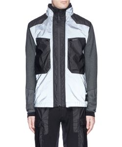 Stone Island | Mussola Gommata 2-In-1 Reflective Vest And Zip Hoodie Set