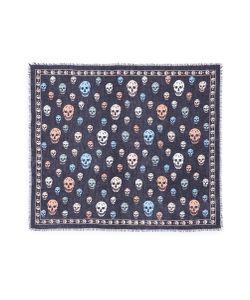 Alexander McQueen | Skull Silk-Modal Scarf
