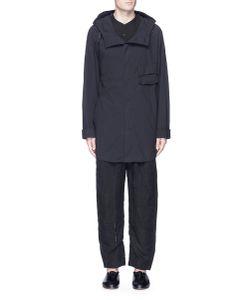 Ziggy Chen | Hooded Cotton Shirt Jacket