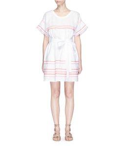 Lisa Marie Fernandez | Fiesta Ricrac Belted Linen Dress