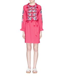 Figue | Lou Lou Tassel Embroidered Dress