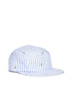Maison Kitsuné | Stripe Fox Jacquard Baseball Cap