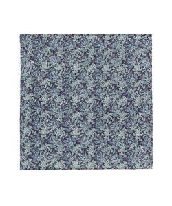 Lardini | Paisley Print Linen Pocket Square