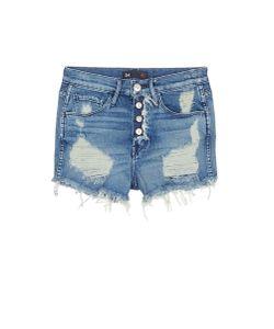 3X1 | Shelter Ripped High Waist Denim Shorts