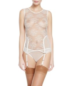 La Perla | Eva Long Vest Top With Suspenders