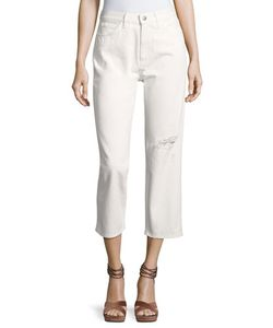 M.i.h Jeans | Jeanne Ripped Cropped Pants