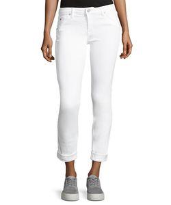 Hudson | Bacara Low-Rise Slim-Leg Cropped Jeans