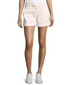 Vince | Linen-Blend Patch-Pocket Shorts