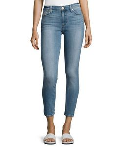 7 For All Mankind | Gwenevere Cropped Skinny Jeans