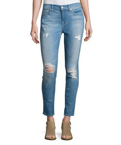 7 For All Mankind | Gwenevere Destroyed Skinny Jeans