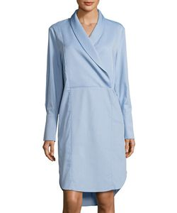 C/Meo | Make You Stay Long-Sleeve Shirtdress