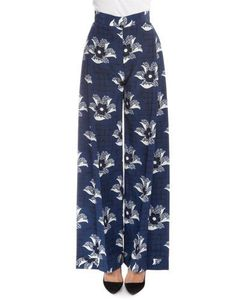 Victoria Beckham | Pleated-Front Wide-Leg Pants