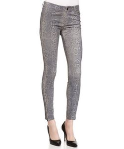J Brand Jeans | Vesperprint Leather Jeans