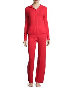 Neiman Marcus Cashmere Collection | Cashmere Hooded Jogging Set