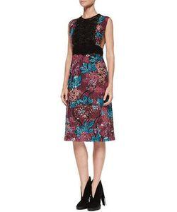 Burberry Prorsum | Sleeveless Layered-Lace Dress