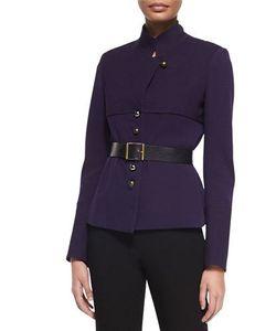Donna Karan | Long-Sleeve Belted Trench Jacket
