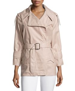 Kaufmanfranco | French Plonge Leather Trench Coat