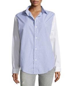 Current/Elliott | The Prep School Shirt Hearbeath