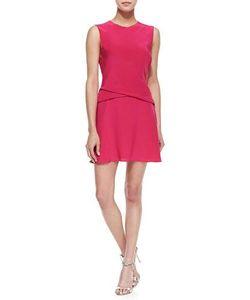 Thakoon   Sleeveless Crisscross Drape Dress