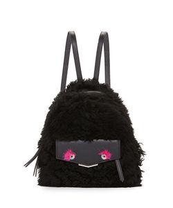 Fendi | Mini Monster Shearling Backpack