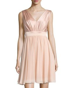 Vera Wang | Sleeveless Chiffon Cocktail Dress