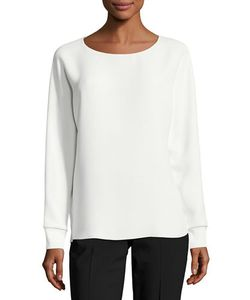 Vince | Long Dolman-Sleeve Relaxed Blouse