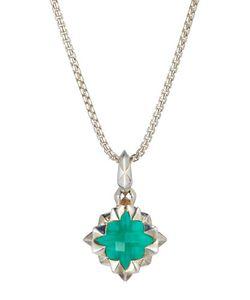 Stephen Webster   Superstud Crystal Haze Pendant Necklace Green