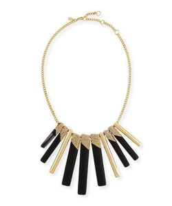 Alexis Bittar | Tapered Stick Bib Necklace