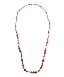 Alexis Bittar | Long Beaded Single-Strand Necklace Multi